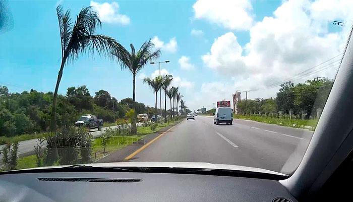 Riviera Maya by car