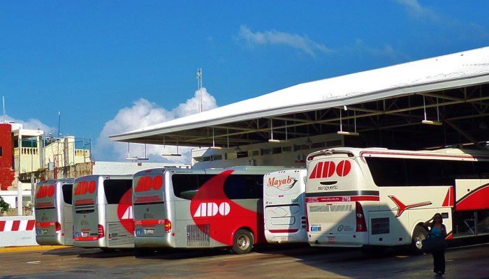 ADO station in Playa del Carmen