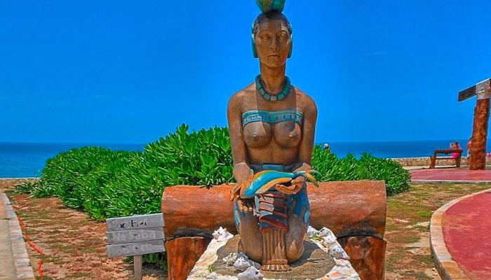 Ixchel Goddess in Isla Mujeres